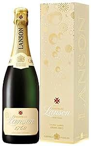 Lanson Ivory Label NV Demi Sec Gift Box 75cl