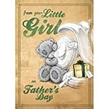 From Your Little Girl Me to You Bear Fathers Day Card, by carte blanche