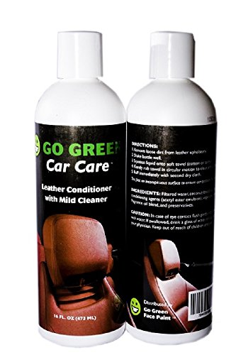 Leather Conditioner  Organic, 3 in 1 Leather Care, Cleans protects and restores your leather, Unleash the Power of Coconut on your Leather, Purses, Boots, Handbags and Furniture, Made in the USA. (Organic Leather Conditioner compare prices)