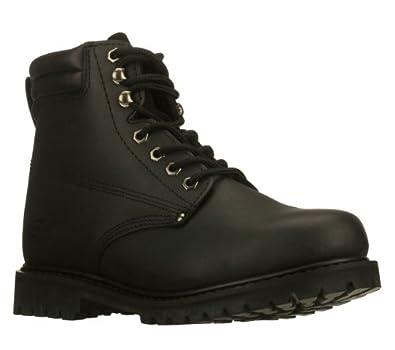 SKECHERS WORK Men's Foreman Steel Toe (Black 10.5 M)