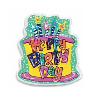 Happy Birthday Cake Topper PopTop