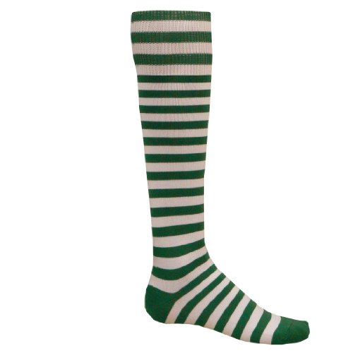 Red Lion Mini Hoop Athletic Socks ( Kelly / White - Medium )