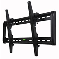 """VideoSecu Tilt TV Wall Mount Bracket for Most 32""""- 65"""" LED LCD Plasma TV Flat Panel Screen With VESA 200x100mm to 600x400mm Threaded inserts for mount, Compatible with Sony Bravia, Samsung, LG, Toshiba, Sharp AQUOS, Panasonic, Vizio, Haier, Westinghouse, Pioneer, ProScan, RCA, MF607BL 1QH"""