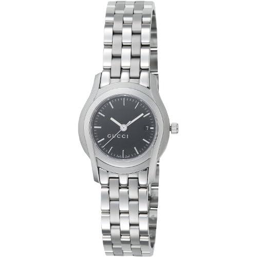 [グッチ]GUCCI 腕時計 5505L YA055518 ブラック バーインデックス レディース [並行輸入品]