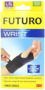 Futuro Energizing Wrist Support Right Hand, Large Extra-Large by Futuro