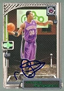 Morris Peterson Autographed Hand Signed Basketball Card (Toronto Raptors) 2004 Topps... by Hall of Fame Memorabilia