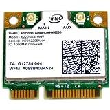 汎用 純正品 Intel Centrino Advanced-N 6205 (62205ANHMW) 802.11a/b/g/n、2.4 GHz および 5 GHz 対応デュアルバンド対応 Wi-Fi