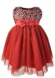 Faye Burgundy Velvet Ocassion Dress 9-12 Months