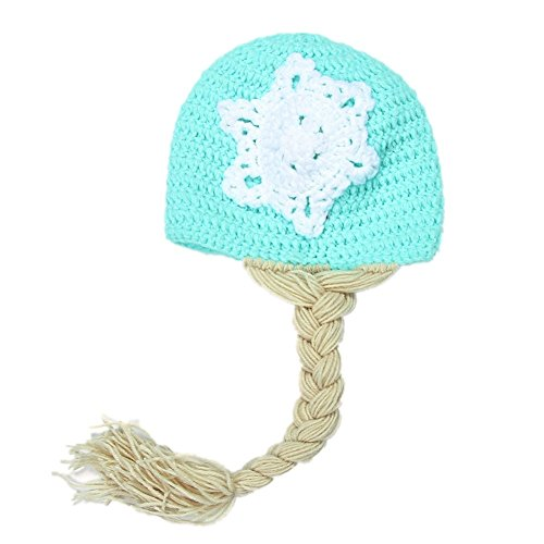 Fashion Unisex Newborn Boy Girl Baby Outfits Photography Props Snowman Hat