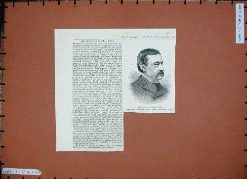 1887 Sir Howard Grubb Telescope Constructor Dublin