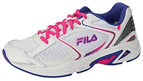 Fila Women's Athletic Shoe White/Royalblue/Pinkglow
