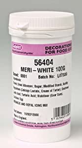 Sugarcraft Edible Culpitt Meri White 100G