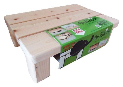 木製便利台 何でものる子ゾウ 390X270X120mm