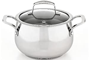Belgique Stainless Steel Soup Pot, 3 Qt. by Tools of the Trade