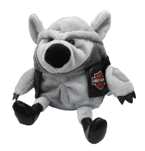 Kids Preferred Harley Davidson All Bean Bag, Wild Wolf
