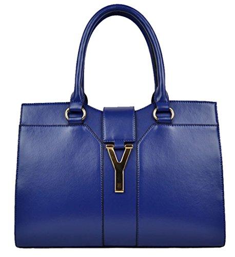 saierlong-womens-cross-body-bag-handbag-tote-blue-cow-leather-zipper-hasp-cotton-lining-dacron-linin