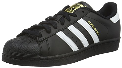 adidas Originals Superstar Foundation B27140, Herren Low-Top Sneaker, Schwarz (Core Black/Ftwr White/Core Black), EU 48 2/3 thumbnail