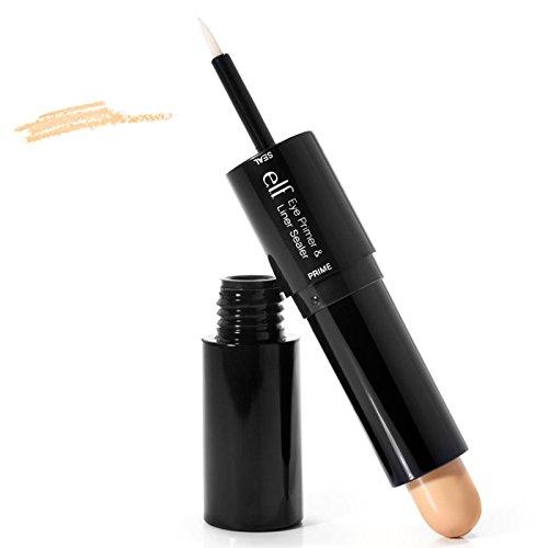 E.L.F. Cosmetics, Eye Primer & Liner Sealer, Clear/Natural, 0.09 oz (2.5 g)/0.14 oz (4 g) - 2pc (Elf Eyeliner Sealer compare prices)