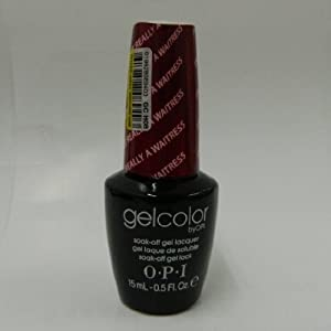 Opi Gelcolor Collection Nail Gel Lacquer, I'm Really Not A Waitress, 0.5 Fluid Ounce