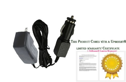 Upbright® New Male Cigarette Type Plug Global Ac / Dc Adapter For Prestone Portable Power Jump It Portable Battery Jump Starter Power Supply Cord Cable Charger Input: 100 - 240 Vac Worldwide Use Mains Psu