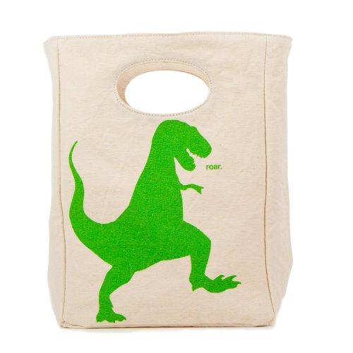 Fluf Organic Cotton Lunch Bag, T-Rex - 1
