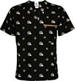 NFL NEW ORLEANS SAINTS Scrub Shirt-NEW ORLEANS SAINTS Scrub Top (SMALL) at Amazon.com
