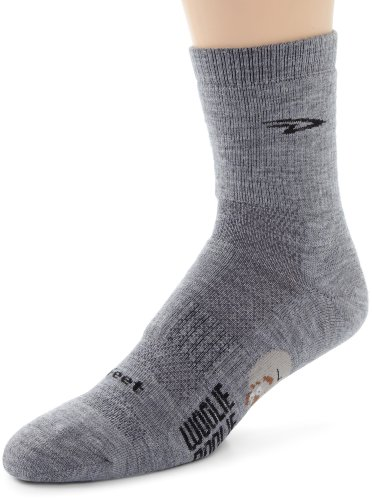 Buy Low Price DeFeet Men's Woolie Boolie Sock (WB2G4101-P)