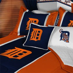 mlb detroit tigers 5pc bed in a bag queen size bedding blog