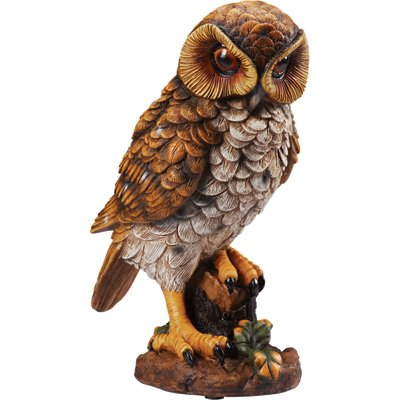 Motion-Detecting Owl Decoy - 12 1/4in.H, Model#
