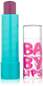 Maybelline York Baby Lips Moisturizing Lip Balm, Pink Punch, 0.15 Ounce by Maybelline, Consumer Products Division of L?Oréal USA S/D, Inc.