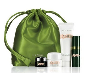 La Mer Travel Size 5 Piece Skincare Set (Green)