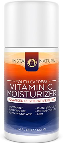 InstaNatural Vitamin C Moisturizer Cream - Anti