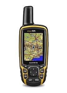 Garmin GPSMAP 64 Worldwide with High-Sensitivity GPS and GLONASS Receiver by Garmin
