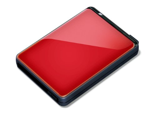 Buffalo HD-PNT1.0U3R-EU MiniStation Plus 1TB USB 3.0 Shockproof Portable Hard Drive - Red