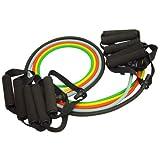 Bandas de Resistencia KAZE SPORTS Premium para ejercicio de latex, paquete de 5 bandas