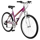 """26"""" Granite Peak Women's Mountain Bike, Magenta-Roadmaster-R4047WMCDB"""