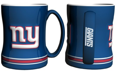 New York Giants Coffee Mug - 15Oz Sculpted