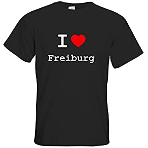getshirts - i love... - T-Shirt - I love Freiburg