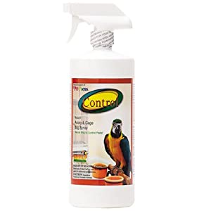 Control Natural Aviary and Cage Bug Spray 32oz