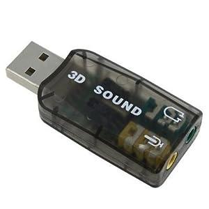 USB Sound Card Adaptor by Islandoffer