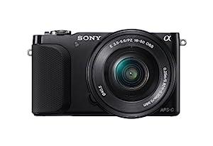 Sony NEX-3NL/B Compact Interchangeable Lens Digital Camera Kit (Black)