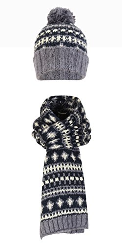charles-taylor-mens-fairisle-knit-beanie-hat-long-scarf-winter-thermal-fashion-set-one-size-blue