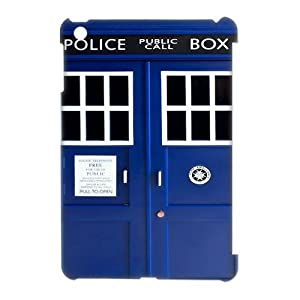 TV Show Doctor Who Tardis Police Call Box iPad Mini Plastic Case Cover at Goodcase
