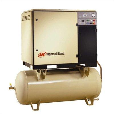 120 gallon 20 hp 125 psi 83 cfm rotary screw air for Ingersoll rand air compressor motor starter