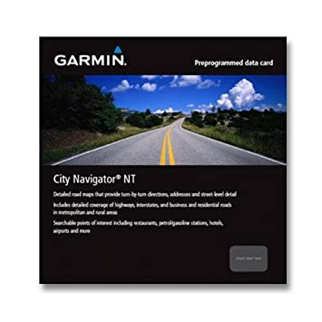Garmin City Navigator India Micro SD / SD Card