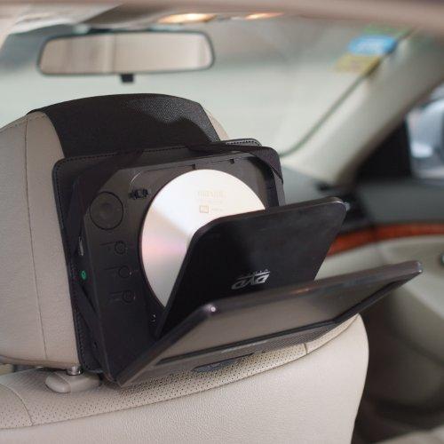 tfy support voiture appui t te pour lecteur de dvd portable de 7 pouces pour sylvania sdvd7027 c. Black Bedroom Furniture Sets. Home Design Ideas