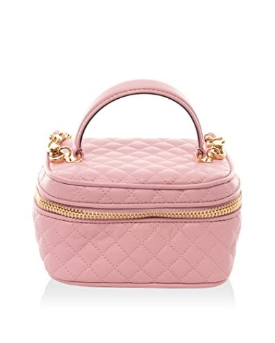 Moschino Women's Quilted Handbag, Pink, Mini