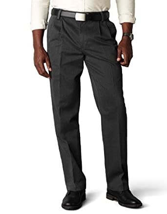 Low Price Dockers Men's Signature Khaki D3 Classic Fit Pleated Pant