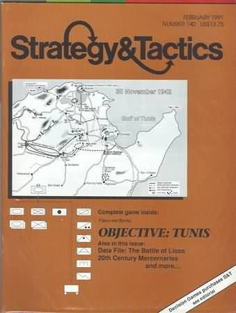 strategy-tactics-magazine-no-140-objective-tunis-game-february-1991-by-decision-games-christopher-cu