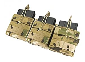 Porte Chargeur 3 Poches Pour 6 Chargeurs M4 M16 Camouflage Multicamo 101 Inc 359858 Cp Accessoire Gilet Tactique Airsoft